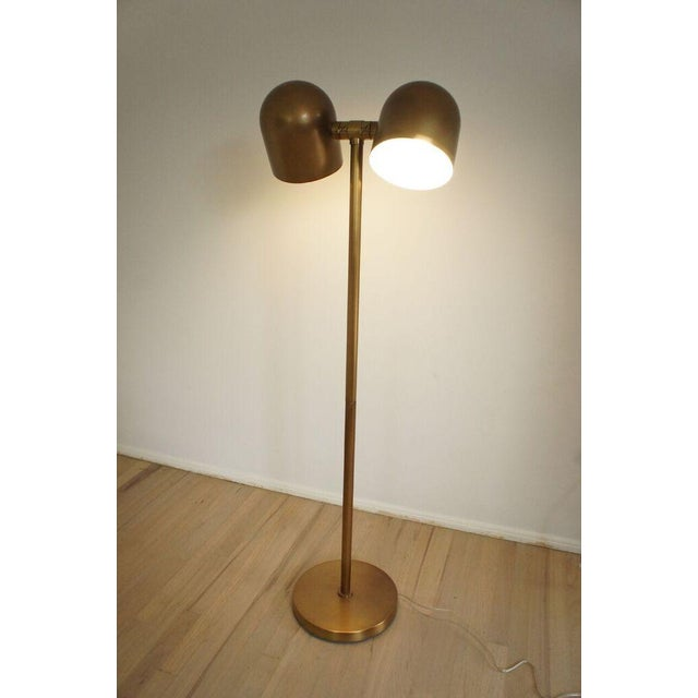 Brass Floor Lamp - Image 4 of 8