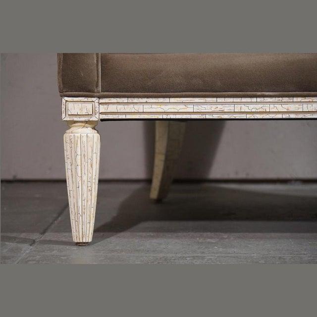 Velvet Barrel Chair - Image 7 of 8