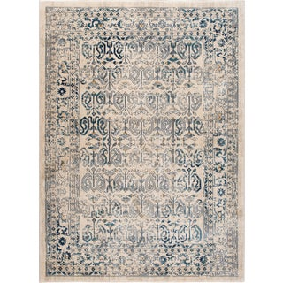 Journey Sylvia Traditional Persian Cream Rectangle Area Rug - 8' x 10'