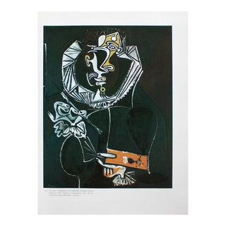 """1985 Pablo Picasso, """"Portrait of a Painter After El Greco"""" Parisian Photogravure For Sale"""