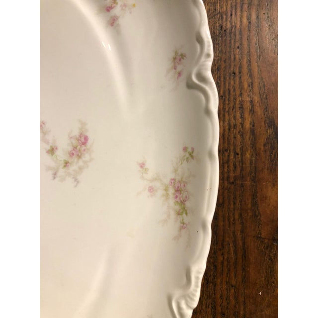 Early 1900s Haviland Limoges Floral Gilt Meat Platter For Sale In New York - Image 6 of 10
