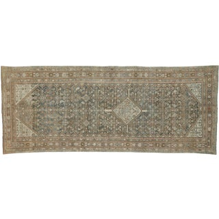 Antique Persian Malayer Style Gallery Rug - 5′8″ × 14′ For Sale