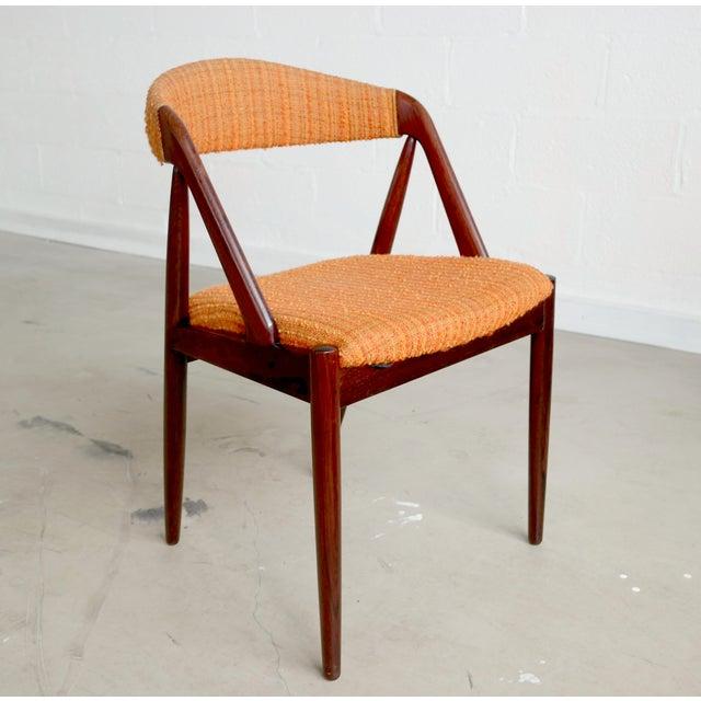 Model31 Kai Kristiansen Rosewood Chairs - Set of 3 - Image 4 of 9