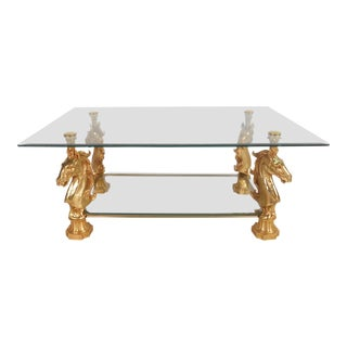 Maison Charles Style Coffee Table For Sale