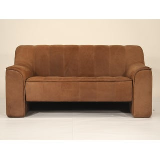 De Sede Aged Buffalo Leather Ds-44 Adjustable Loveseat Sofa, 1970s Preview