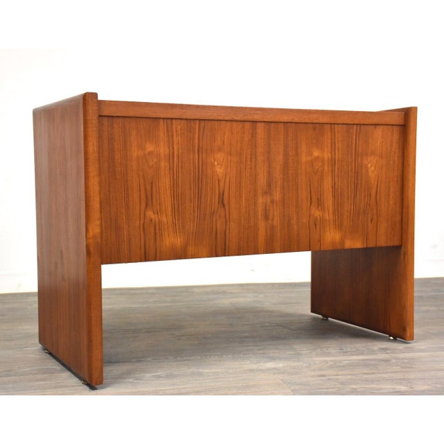 Danish Teak MCM Filing Cabinet For Sale - Image 10 of 11