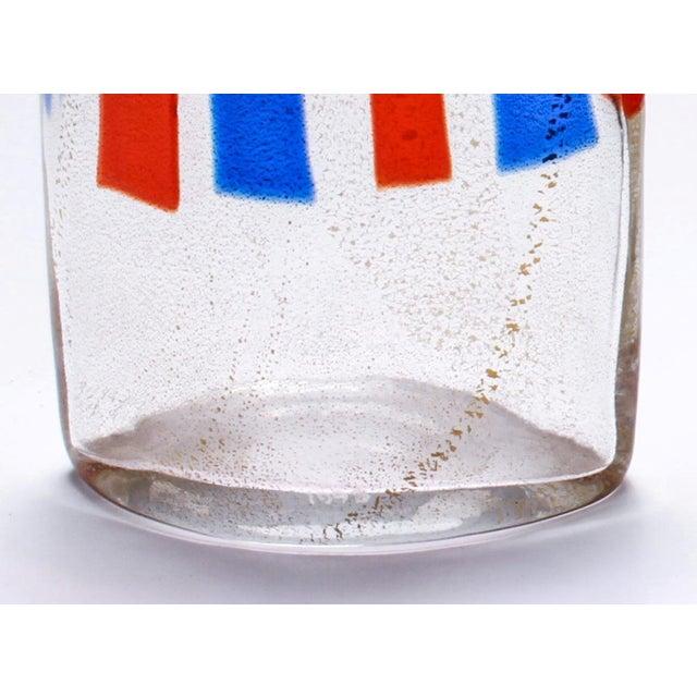Modern Carlo Moretti Murano Aventurine Glass Vase For Sale - Image 3 of 6
