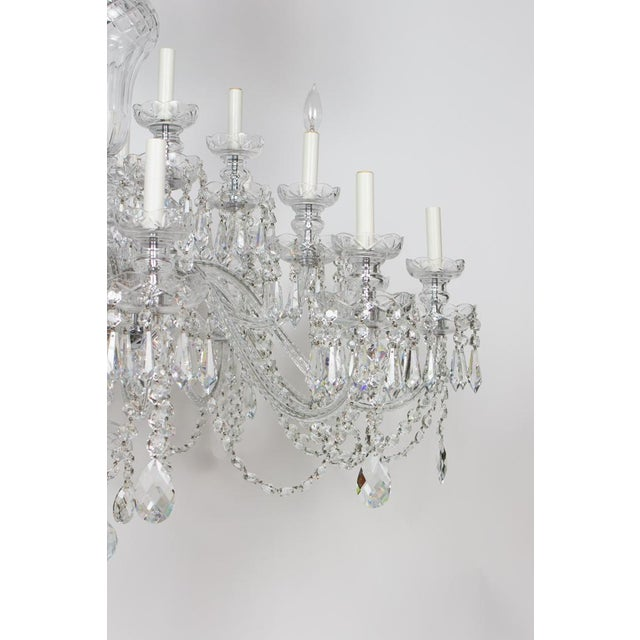 Early 21st Century Preciosa Czech Crystal Chandelier - Showroom Sample For Sale - Image 4 of 7