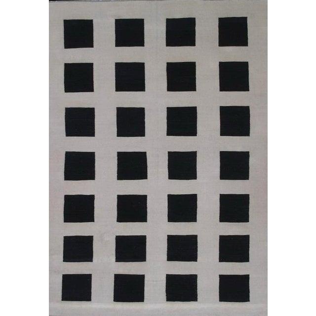 Pasargad Art-Deco Style Wool Kilim - 8′2″ × 11′3″ - Image 1 of 4