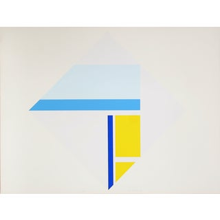 "Ilya Bolotowsky, ""Series 4,"" Silkscreen For Sale"