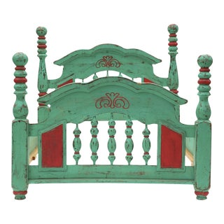 Early 1900s Mexican Hacienda Bed