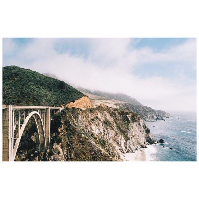 "Original ""Bixby Bridge"" Framed 16x20 Photograph For Sale - Image 4 of 6"
