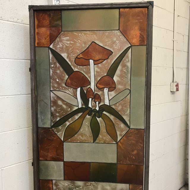 Plastic Mid Century Kitchy 3-Panel Screen Room Divider For Sale - Image 7 of 13