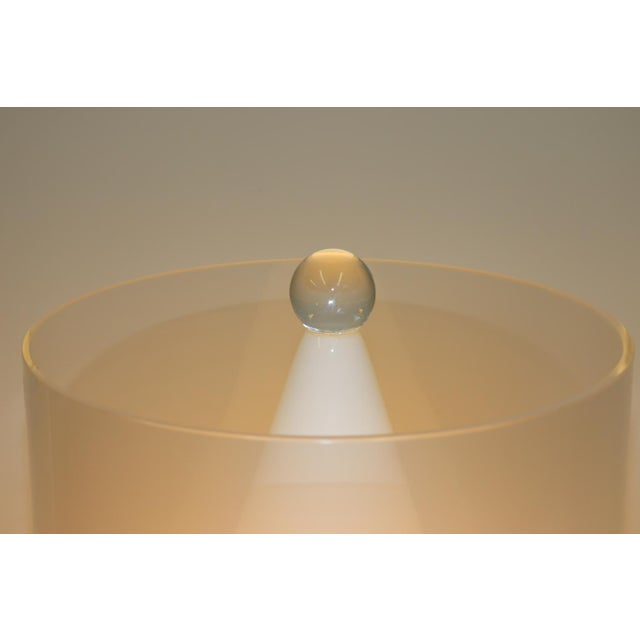 Mid-Century Modern Murano Glass Table Lamp For Sale - Image 10 of 13