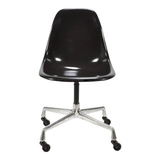 Set of Six Eames Shell Chairs For Sale