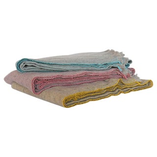 Merino Wool and Bamboo Blankets For Sale