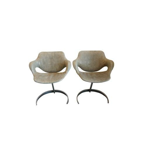 Pair of Vintage Chairs by Boris Tabocoff Chairs For Sale - Image 12 of 12