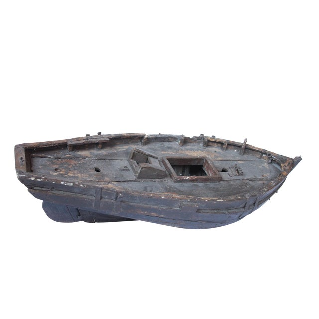 Decorative Wooden Boat For Sale