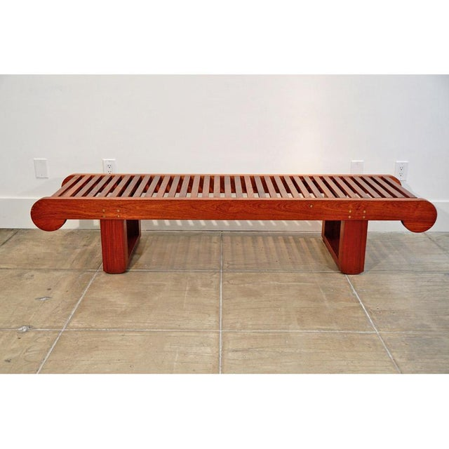 Late 20th Century Late 20th Century Kipp Stewart Bench For Sale - Image 5 of 10