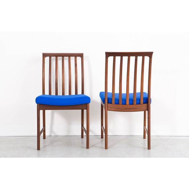 Wood 1960s Set of Dux Dining Chairs For Sale - Image 7 of 13