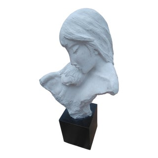 Austin Productions Mother and Child Sculpture For Sale