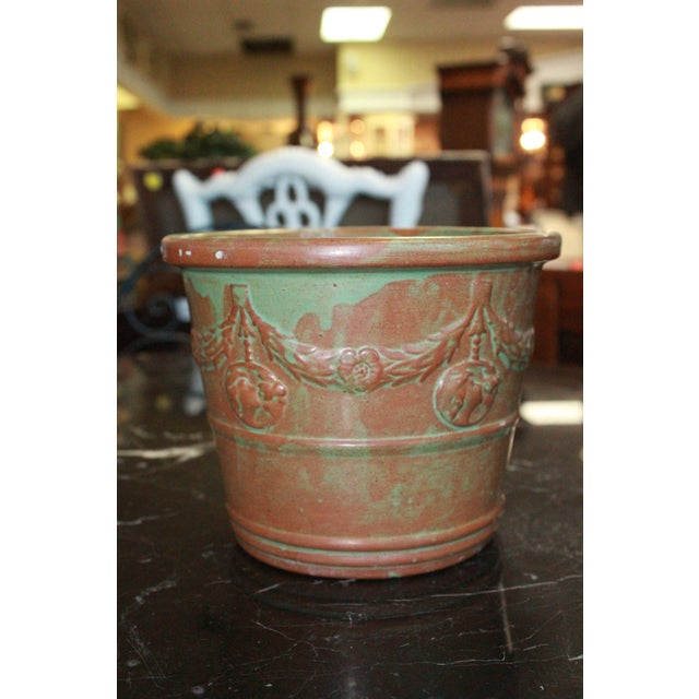 Mid 20th Century Vintage Patina Planter For Sale - Image 5 of 5