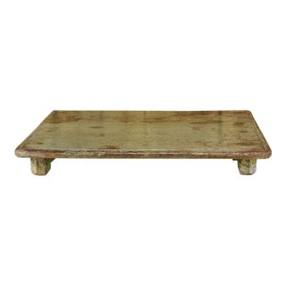 Slate Wooden Bajot Table For Sale