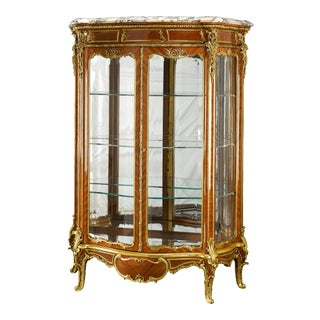 Rococo Vitrine By Linke And Zwiener For Sale