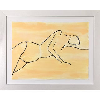 "Lindsey Weicht ""Sunbathing Female"" Painting For Sale"