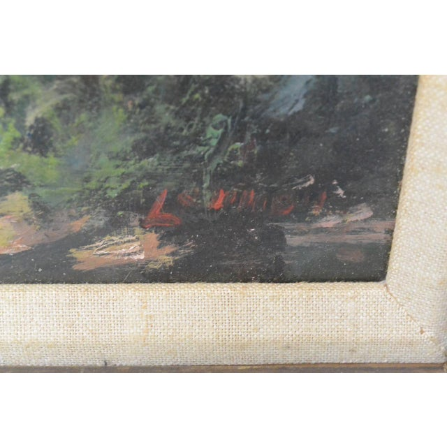 New England Country Home Oil Painting by Bernard Lennon - Image 3 of 5