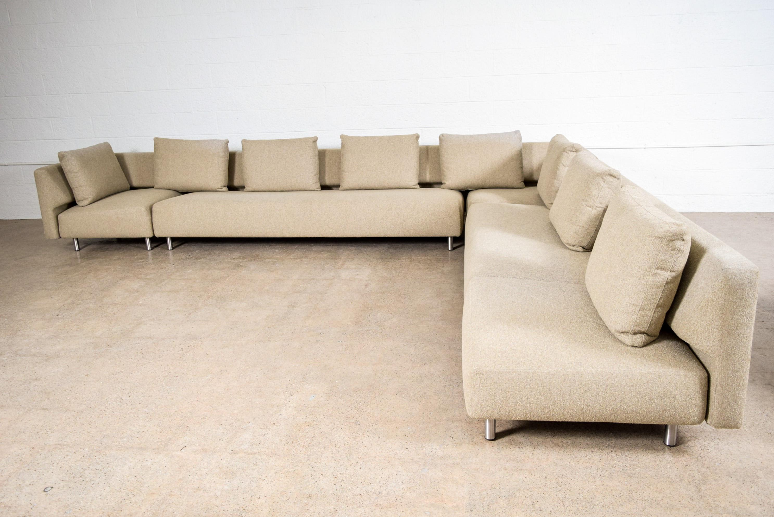 Niels Bendtsen For Bensen Metro Large Modular Sectional Sofa   Image 3 Of 11