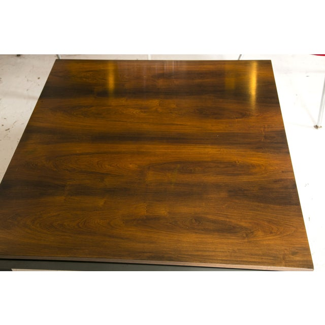 1960s Rosewood Ebonized Cocktail or Coffee Table - Image 5 of 6