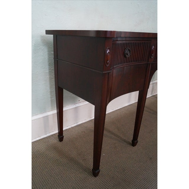 John Widdicomb Vintage 1940s Mahogany Sideboard For Sale In Philadelphia - Image 6 of 10