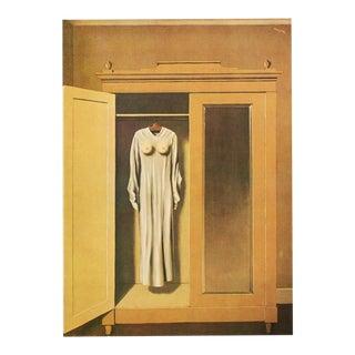 """1972 Rene Magritte, """"Homage to Mack Sennett"""" Original Photogravure For Sale"""
