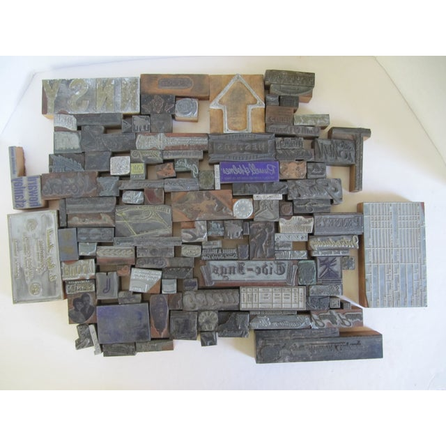 Vintage Letterpress Blocks - 116 Pieces - Image 3 of 6