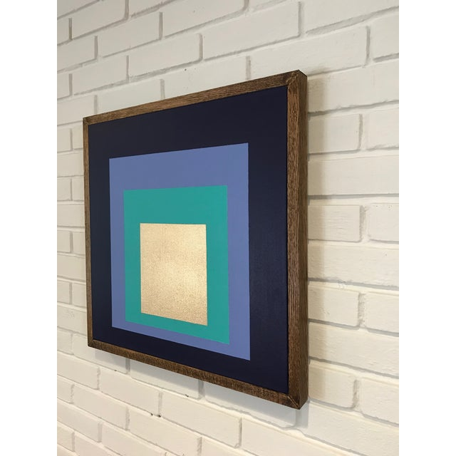 """Artist: Tony Curry Modern Abstract Painting on canvas Signed & Titled. Painting on Canvas. Size: 36x36"""" inches. Modern Art..."""
