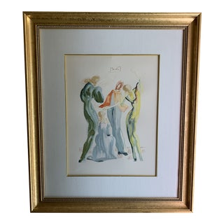 """La Danse"" by Salvador Dali 1960 Print For Sale"