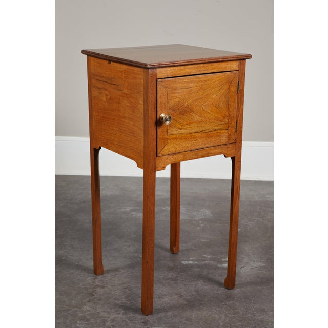 Pair of English George III Walnut Side Tables - Image 8 of 9
