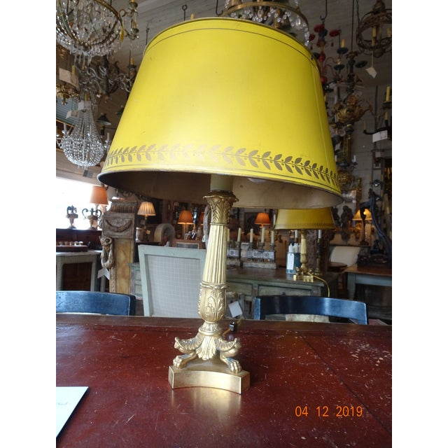 Pair of 19th Century French Bouillotte Lamps For Sale - Image 9 of 12