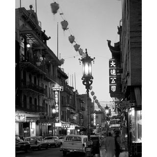 Mid-Century Chinatown, San Francisco Photograph For Sale