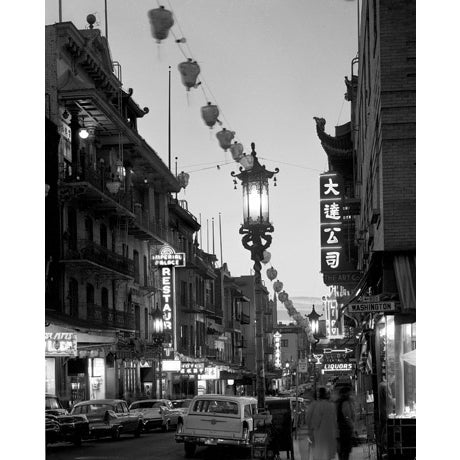 Mid-Century Chinatown, San Francisco Photograph - Image 1 of 2