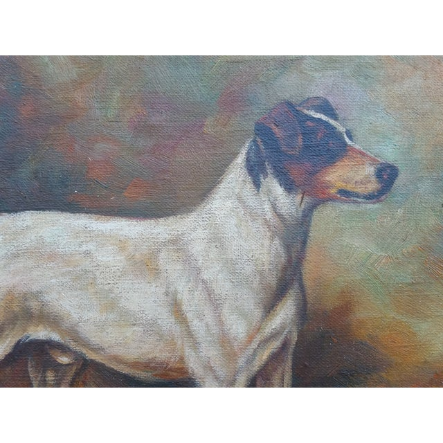 Jack Russell Oil Painting - Image 3 of 5
