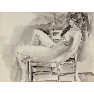 Jack Freeman Bay Area Figurative Study in Ink, 1970 1970 For Sale