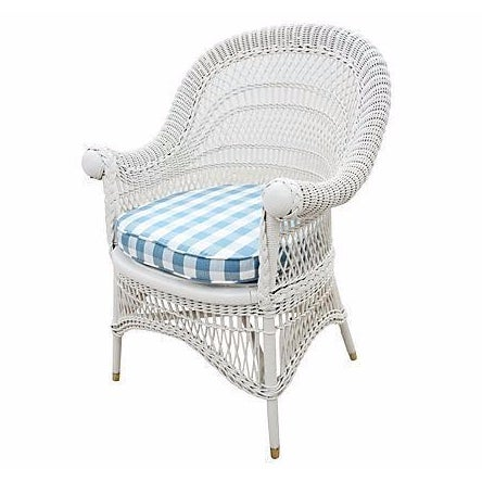 Wicker Accent Chair - Image 1 of 4