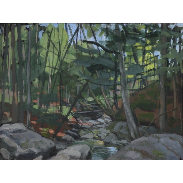 """Mountain Stream"" Plein Air Painting by Stephen Remick - Image 1 of 6"