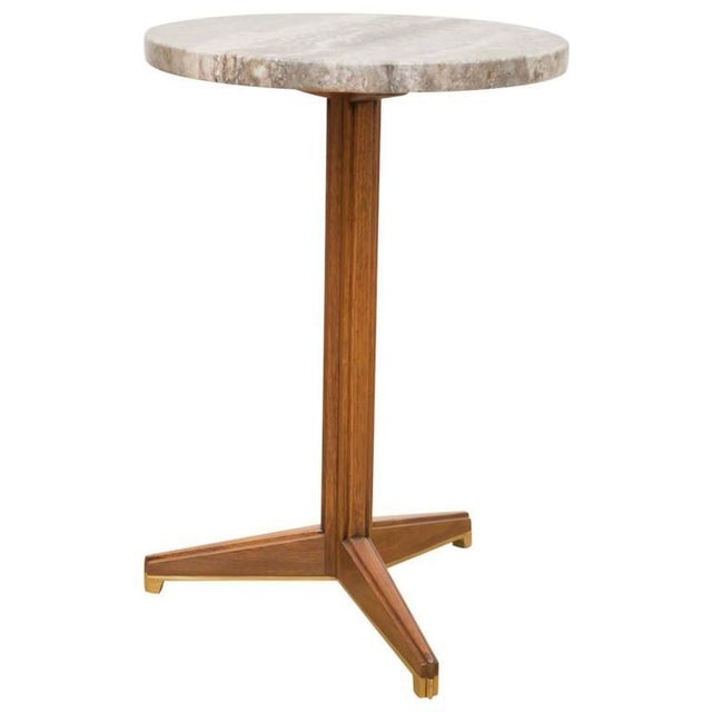 Edward Wormley for Dunbar Marble Side Table For Sale In San Francisco - Image 6 of 6