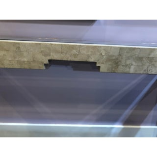 20th Century Hollywood Regency Maitland-Smith Tessellated Stone Console Table Preview