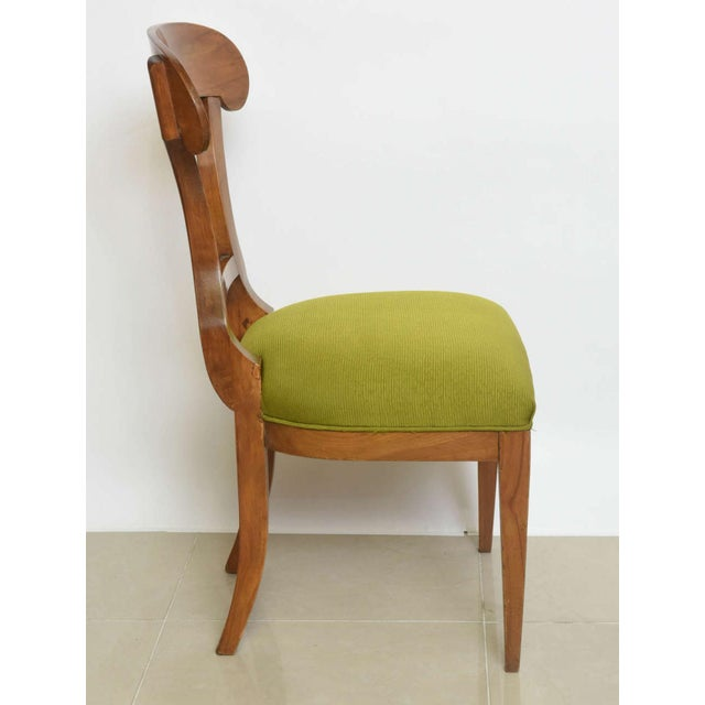 Biedermeier Fruitwood Side Chair For Sale In Miami - Image 6 of 7