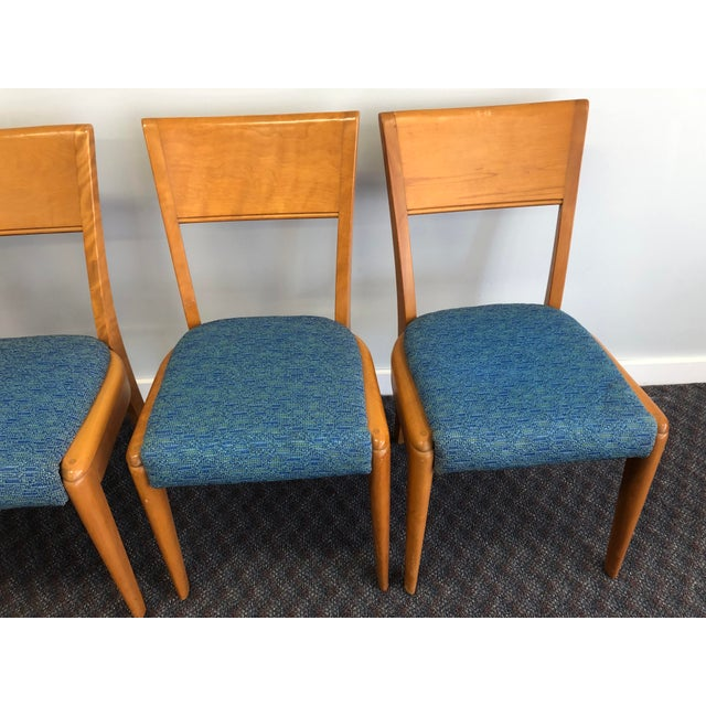 Vintage Mid Century Modern Dining Chairs By Heywood