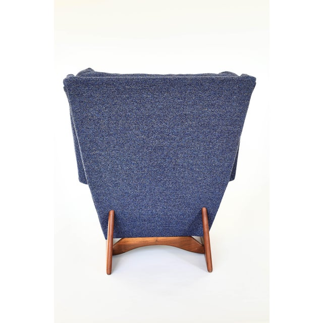 Craft Associates Adrian Pearsall Wingback Chair For Sale - Image 4 of 7